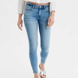 AEO • Blue Next Level Flex Skinny Jegging Sz 26